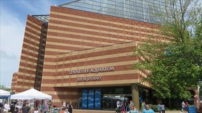 veritas vita visited Tennessee Aquarium - Chattanooga, TN