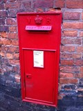 Image for Victorian Post Box on Belmont in Shrewsbury, Shropshire