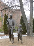 Image for Statues of Andy and Opie - Mt. Airy, NC