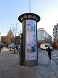 Image for Moderní reklamní sloup - roh Václavského námestí a Opletalovy ulice - Praha, CZ