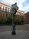 Image for Hancher Clock  -  Wheeling, West Virginia