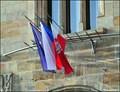 Image for Nymburk - municipal flag at Town Hall / Nymburk - mestská vlajka na radnici (Central Bohemia)