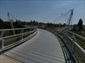Image for Pedestrian Suspension Bridge / Lavka pro pesi - Praha Barrandov, CZ