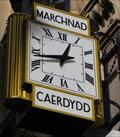 Image for Cloc Marchnad Caerdydd  -  Cardiff, South Wales.