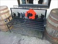 "Image for ""Lest we forget"" Bench by the ""Black Star"", Stourport-on-Severn, Worcestershire, England"