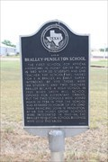 Image for Site of Bralley-Pendleton School
