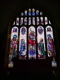 Image for Stained Glass, The Church of St Michael the Archangel, Kirkby Malham, North Yorks, UK