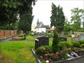 Image for Churchyard behind Catholic Church St. Basilides Ramershoven - NRW / Germany