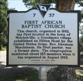 Image for First African Baptist Church - Hilton Head Island, South Carolina, USA.