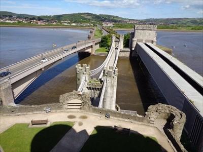veritas vita visited Conwy Suspension Bridge