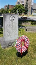 Image for Firefighters memorial of Juckett Park- Hudson Falls, NY