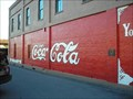 Image for First painted wall sign to advertise Coca-Cola : Cartersville, GA