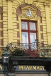 The White Unicorn House and Apothecary. Square of the Republic No.27, Plzen [Pilsen], Czech Republic
