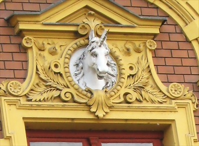 The White Unicorn House and Apothecary on Square of the Republic.