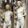 Image for Adam & Eve, Bamberg Cathedral - Bamberg, Germany