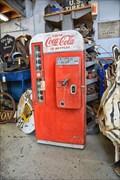 Image for Coca Cola Bottle Dispenser - LeClaire IA
