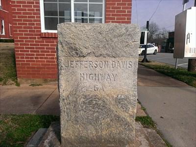 Crawfordville, GA near the courthouse