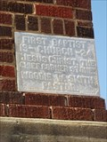 Image for 1924 - First Baptist Church - Knox City, TX