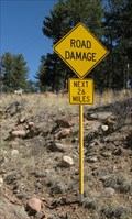 Image for Road Damage 26 Miles, Tarryall CO