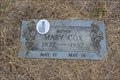 Image for 105 - Mary Cox - Grassdale Cemetery - Parker County, TX