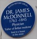 Image for Dr James McDonnell - Queen's Arcade, Belfast, UK