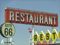 Image for Historic Route 66 - Route 66 Restaurant - Santa Rosa, New Mexico, USA.