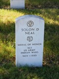 Image for Solon D. Neal - San Antonio National Cemetery - San Antonio, Tx.