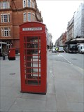 Image for Red Telephone Box - North Audley Street, London, UK