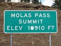 Image for Molas Pass - 10,910'