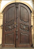 Image for Doorway at Catholic Church St. Martin, Lahnstein - RLP / Germany