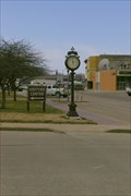 Image for Union Pacific Overland Depot Town Clock - Abilene KS