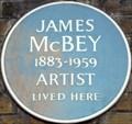 Image for James McBey - Notting Hill Gate, London, UK