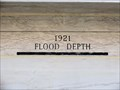 Image for 1921 Flood Depth,  Memorial Hall - Pueblo, CO