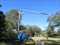 Image for 'Safety Pin' by Claes Oldenburg - New Orleans, LA