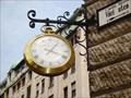 Image for Clock Vaci utca - Budapest, Hungary