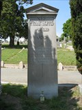 Image for Frank Norris (in Mountain View Cemetery)