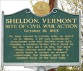 Image for Site of Civil War Action - Sheldon