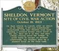 Image for Site of Civil War Action - Sheldon