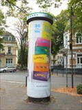 Image for Concrete Advertising Column - Rheinallee - Bad Godesberg - Germany - NRW