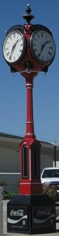 Image for Oklahoma Centenial Clock - Coca-Cola State Fair Clock - Oklahoma City, Oklahoma