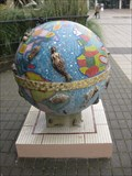 Image for There Be Monsters - Mosaic Globe - The National Archives, Kew, Richmond, Surrey, UK