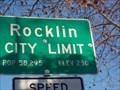 Image for Rocklin City limit - Population 58,295 - Rocklin CA