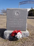 Image for William L. Parr - Prairie Mound Cemetery - Argyle, TX