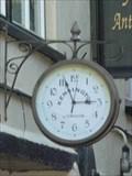 Image for Antique Shop Clock, Kinver, Staffordshire, England