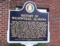 Image for History of Wilsonville, Alabama - Wilsonville, AL