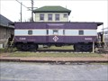Image for Erie bay window caboose #306 - Marion, Ohio