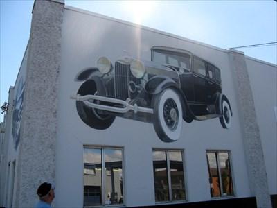 Matthews Memory Lane Auto Mural Portland Or Murals On