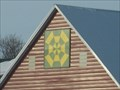 """Image for """"Spider Web"""" Barn Quilt, Rural Sioux Center, IA"""