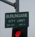 Image for Burlingame, CA - Pop: 26,801