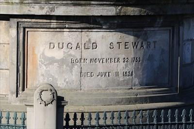 Dugald Stewart Born November 22 1753 Died June 11 1828